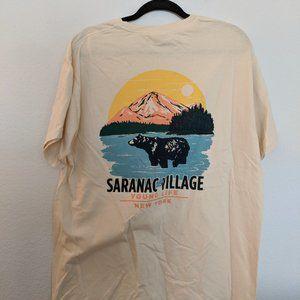 Men's L Comfort Colors Younglife Saranac Shirt NWT